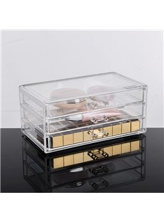 23.9*15.5*10.9cm Environment Friendly Acrylic Material Cosmetic Storage Box