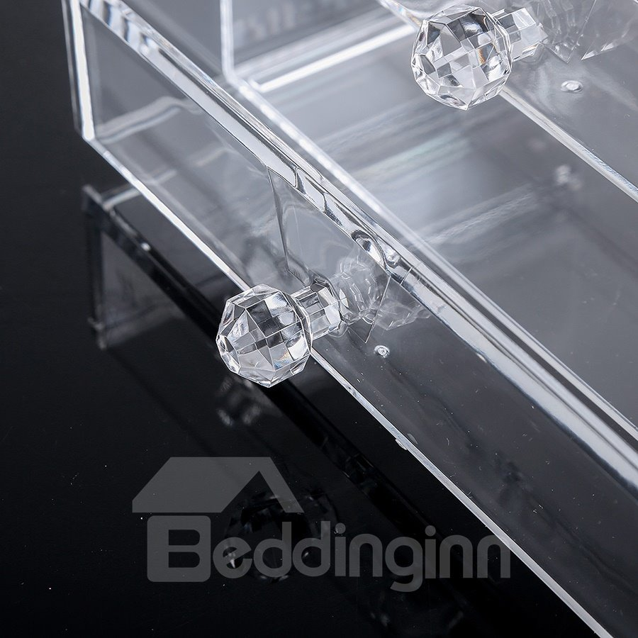 18.7*12.1*9.6cm Environment Friendly Acrylic Material Cosmetic Storage Box