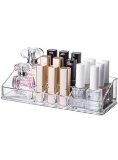 Environment Friendly Acrylic Material 22.3*8.7*5.2cm Cosmetic Storage Box