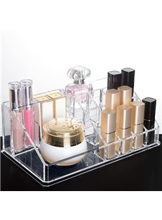 Acrylic Simple Style High Capacity Cosmetic Storage Box