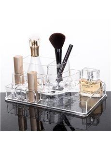 Environment Friendly 22.3*12.8*8.1cm Acrylic Material Cosmetic Storage Box