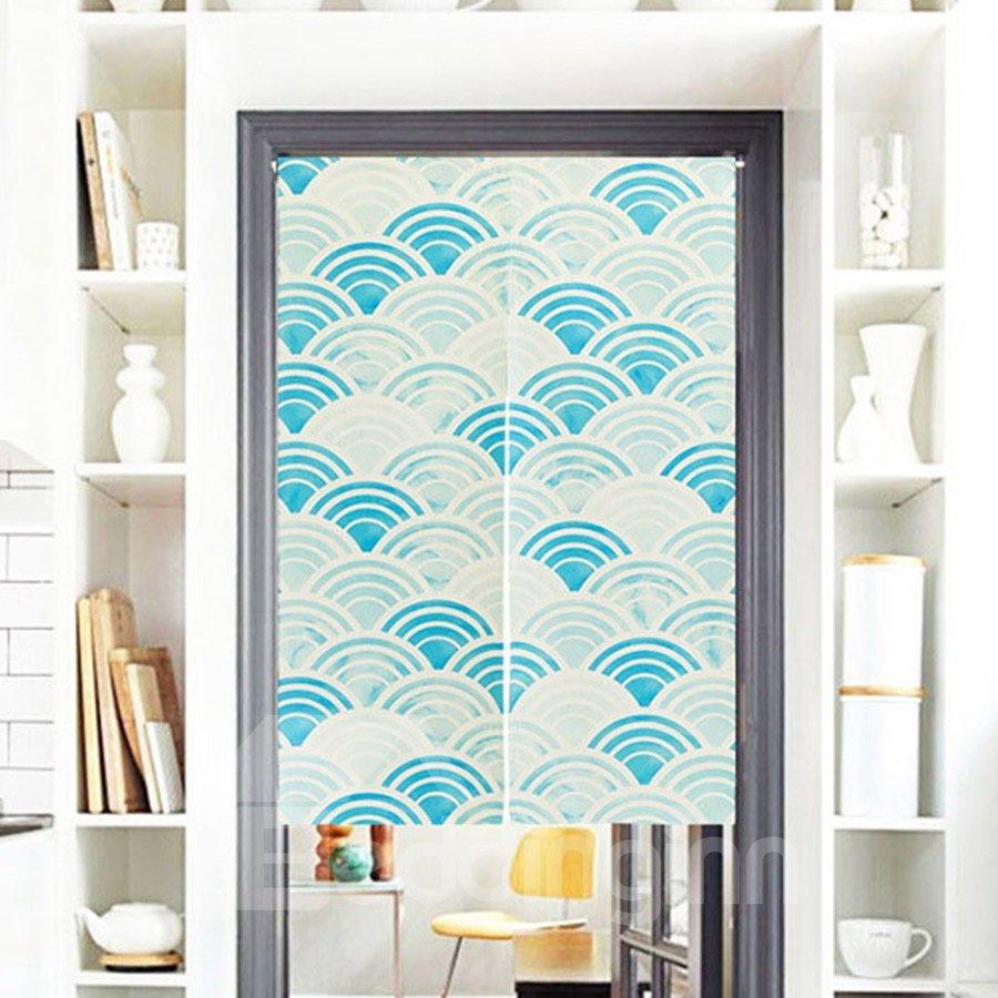 Regular Arc Printing Decorative Hanging Wall Tapestry