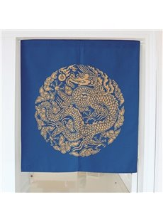 Golden Dragon Printing Decorative Hanging Wall Tapestry