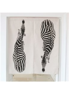 Zebra Printing Cotton Decorative Hanging Wall Tapestry