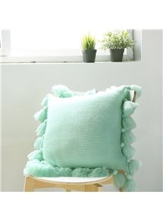 Nordic Simplicity Style Solid Color Acrylic Lantern Ball Pillowcase