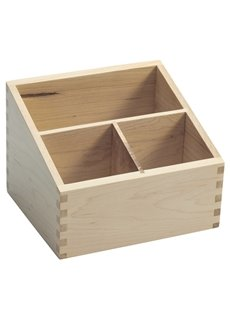 Chinese Style Plain Pattern Living Room Wood Cosmetic Storage Box