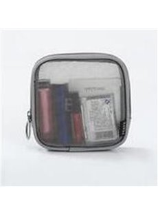 Letter Pattern Nylon Multifunction Cosmetic Storage Bag