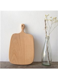 Environmental Natural Beech Square Shape Pizza Plate