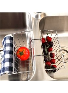 Sink Cleaning Supplies Stainless Steel Storage Rack