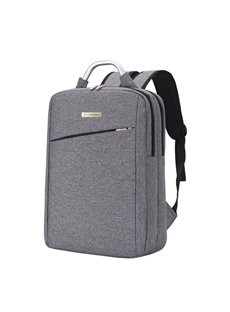 Business Style Vertical Square Oxford Zipper Computer Backpqck