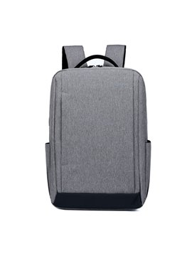 Business Style Waterproof Polyester Large Capacity Zipper Backpack
