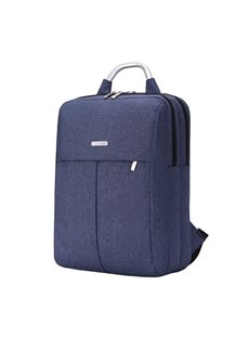 Business Large Capacity Pure Color Nylon Computer Backpack