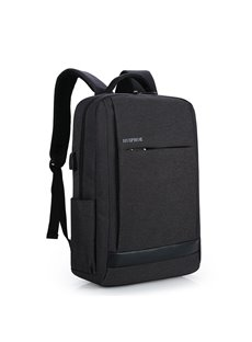 Business Solid Color Multi-layer Computer Packback