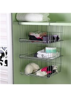 Kitchen Iron Magazines Cosmetics Simple Style Storage Rack