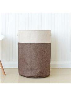 Fold EVA Cloth Japanese Style Snacks Sundry Storage Bucket