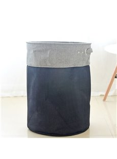 Double Color EVA Cloth Fold Japanese Style Laundry Bag