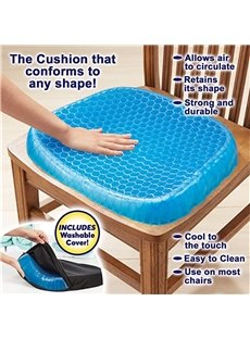 BulbHead Egg Sitter Seat Cushion with Non-Slip Cover Breathable Honeycomb Design Absorbs Pressure Points