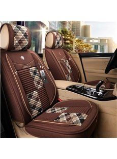 Warm Color 3D Shape Design Durable Truck Universal Fit Car Seat Covers