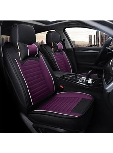 Classic Flax Cool Material Waterproof Universal Fit Seat Covers