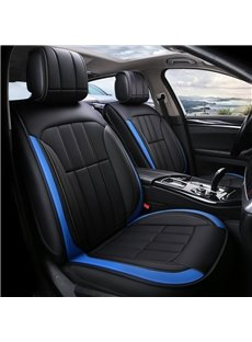 Classic Color Leather 3D Shape Smooth Touch Universal Fit Car Seat Covers