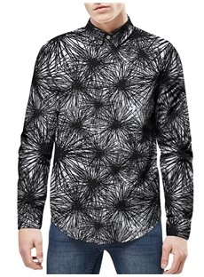 Long Sleeve Quick-Dry Lightweight Loose Model 3D Painted Shirt