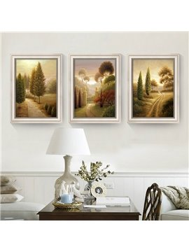 Country Scenes Pattern Natural Style Waterproof Wall Prints