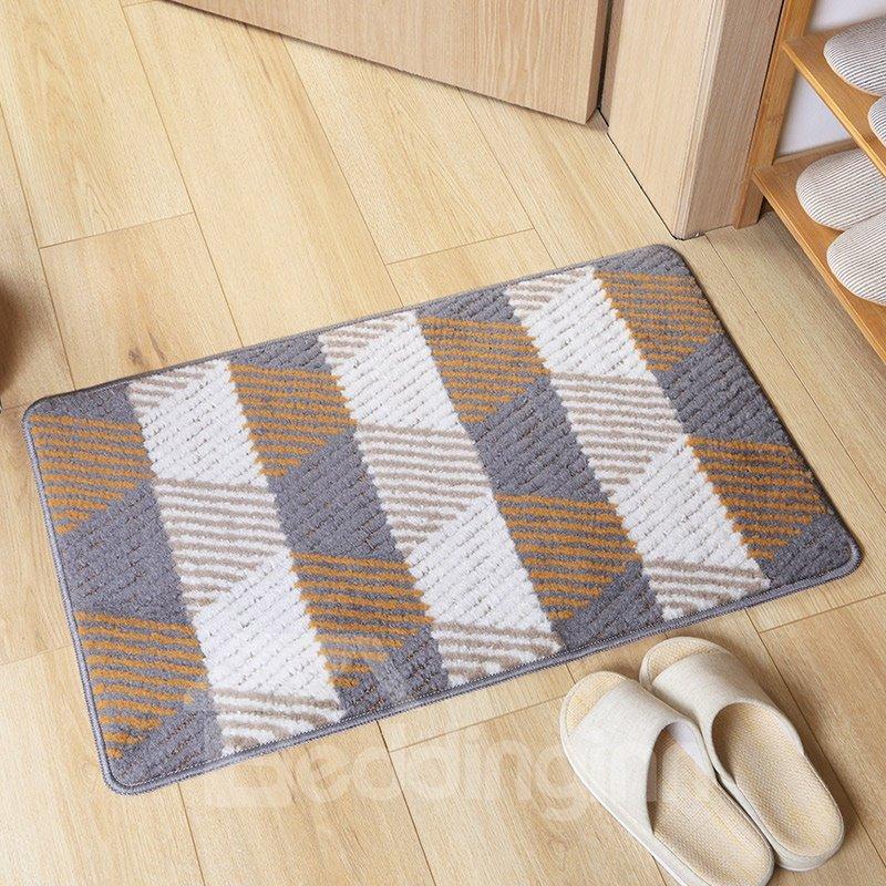 European Style Wearproof Anti-Slip Geometric Pattern Area Rug
