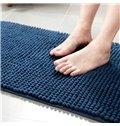 Micro Fiber Thicken Chenille Anti-Slip Bathroom Water Absorption Area Rug