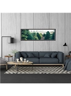 Natural Style Forest 11.8*35.4in Waterproof PVC Home Decor Wall Stickers