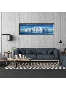 Creative Berg Pattern 11.8*35.4in Waterproof PVC Home Decor Wall Stickers