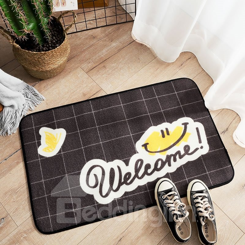 Modern Style Water Absorption Rectangle Machine Made Area Rug