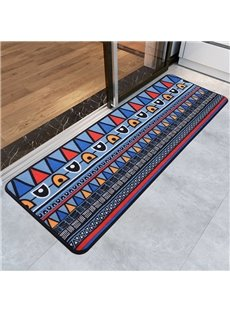 Polyester European Style Rectangle Living Room Area Rug