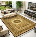 Persian Classical 120*160cm Style Print Anti-Slip Machine Made Area Rug