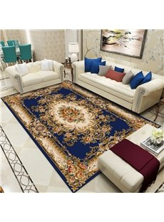 Persian Style 120*160cm Print Living Room Polyester Rectangle Area Rug