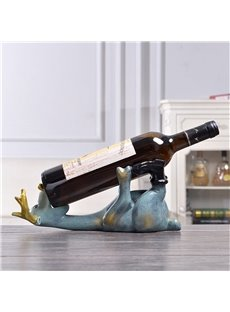 Creative Elk Shape Wine Rack Wedding Gift Desktop Decoration