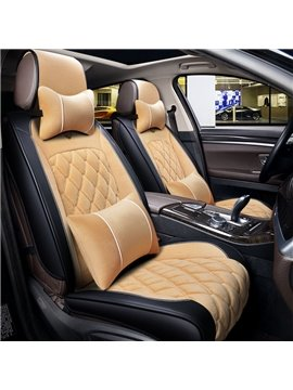 Delicate Colors Luxuriant in Design Nylon Universal Car Seat Covers