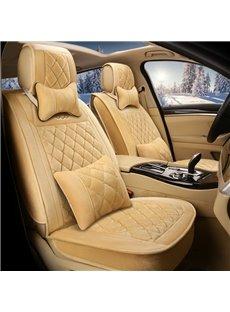 Classical Design Nylon Impeccable Warm Winter Universal Car Seat Covers