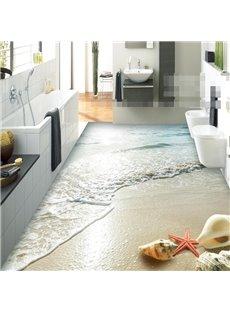 PVC 3D Dreamful Beach Non-slip Waterproof Eco-friendly Self-Adhesive Floor Murals