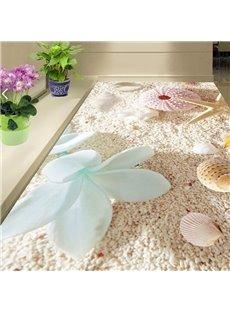 PVC Non-slip 3D Dreamful Beach Waterproof Eco-friendly Self-Adhesive Floor Murals
