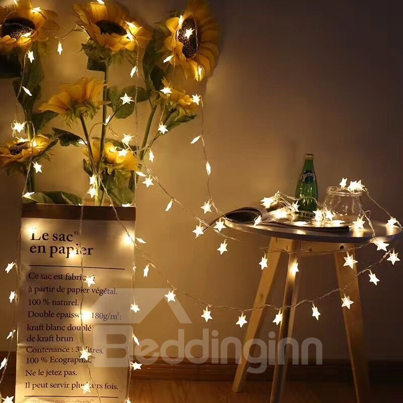 Ball Shape PVC Energy Saving Christmas Decoration LED Lights