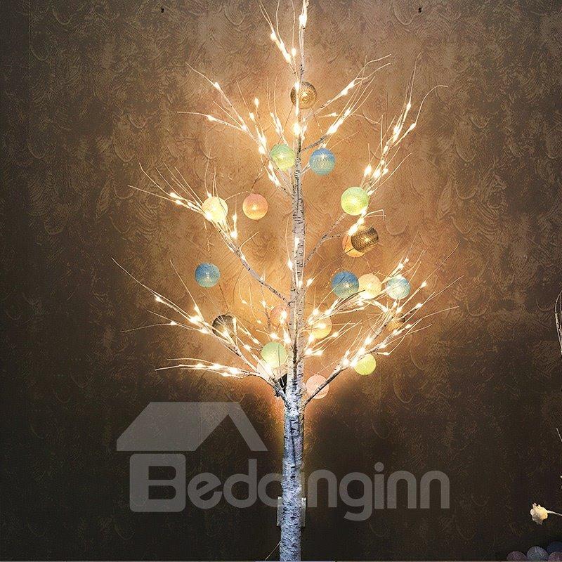 Silver Birch Christmas 24V PVC Nordic Style LED Lights