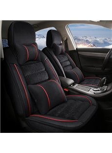 Smooth Comfortable Material 3D Shape Design Warm Universal Car Seat Covers
