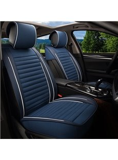 Simple Classical Design Double Color Universal Fit Car Seat Covers