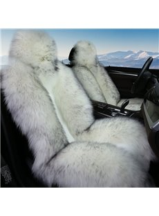 Full Fluffy Material 3D Shape Design Super Warm Winter Universal Car Seat Covers