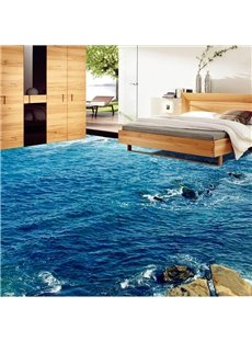 PVC 3D Sea Non-slip Waterproof Eco-friendly Self-Adhesive Floor Murals