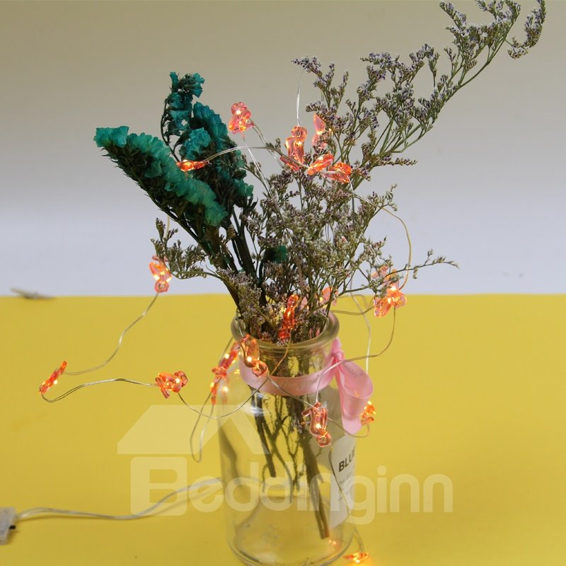 Holiday Decoration Plastic Romantic Energy Saving LED Lights