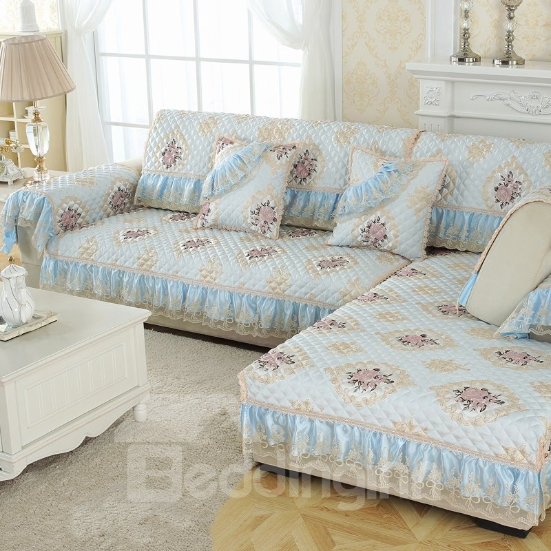 Modern Style Polyester Water Resistant Machine Washable Sofa Covers