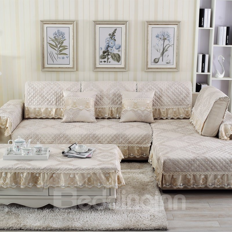 Prevent Stains Easy-Going Water Resistant Polyester Sofa Covers