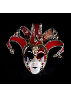 Masquerade Party Festival Painted Ladies Mask for Halloween