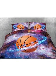 Basketball_Star_and_Galaxy_Printing_Cotton_4Piece_3D_Bedding_SetsDuvet_Covers